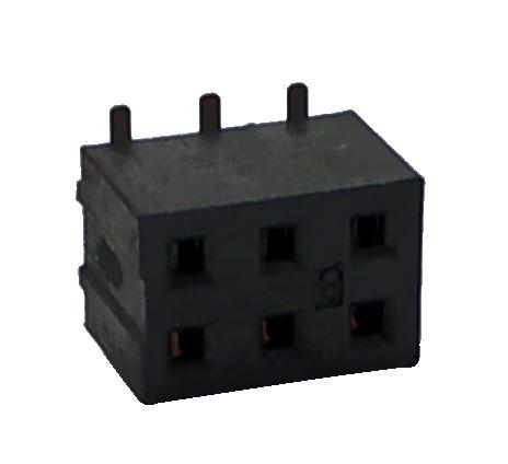 QJ659  6芯贴片插座